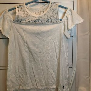 Abercrombie Kids Off The Shoulder Tank
